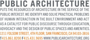 Public Architecture's current logo.