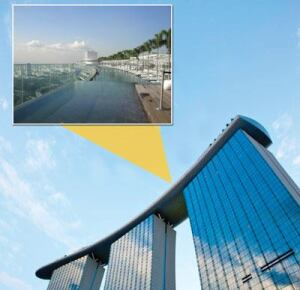The SkyPark opened June 23, 2010, in Singapore.