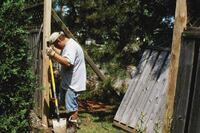 Repairing Wooden Fences