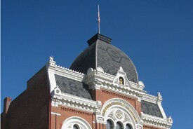 Tibbits Opera House Façade Reconstruction Project