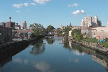 Gowanus Canal Sponge Park, New York