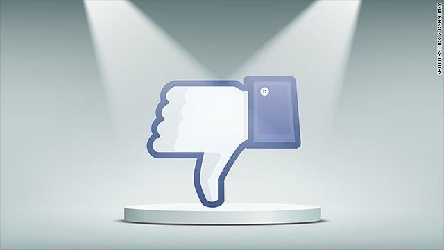 The Facebook dislike button