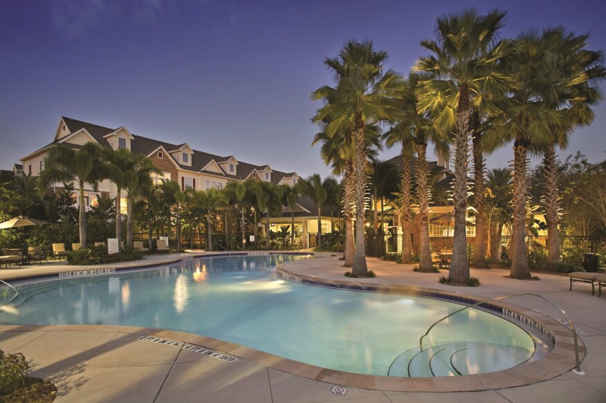 The 464-unit Lodge at Lakecrest in Tampa, Fla., was built in 2008.