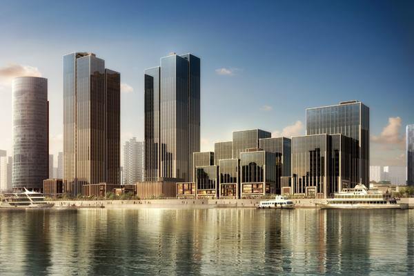 Bund Financial Center, Shanghai.