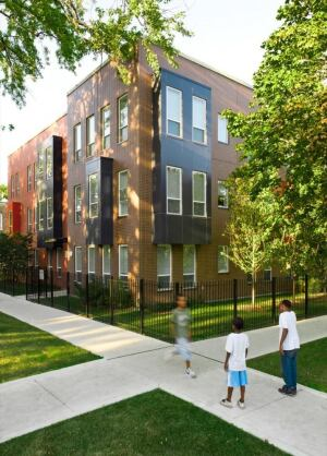 Rosa Parks Public Housing, in Chicago, by Landon Bone Baker Architects