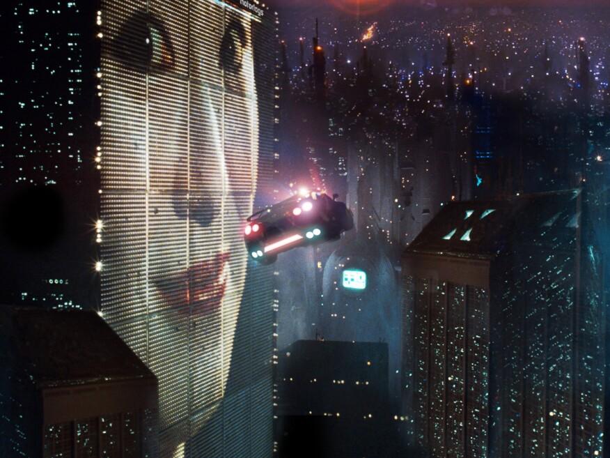 Los Angeles circa 2019, in director Ridley Scott's 1982 sci-fi epic Blade Runner.