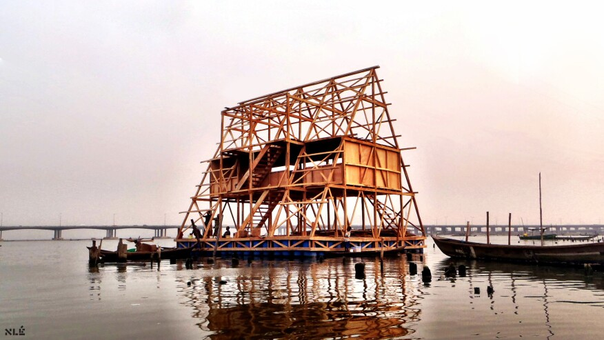 Makoko Floating School in Lagos