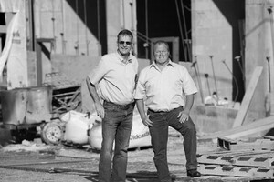 Lee Clark and Steve Garber
