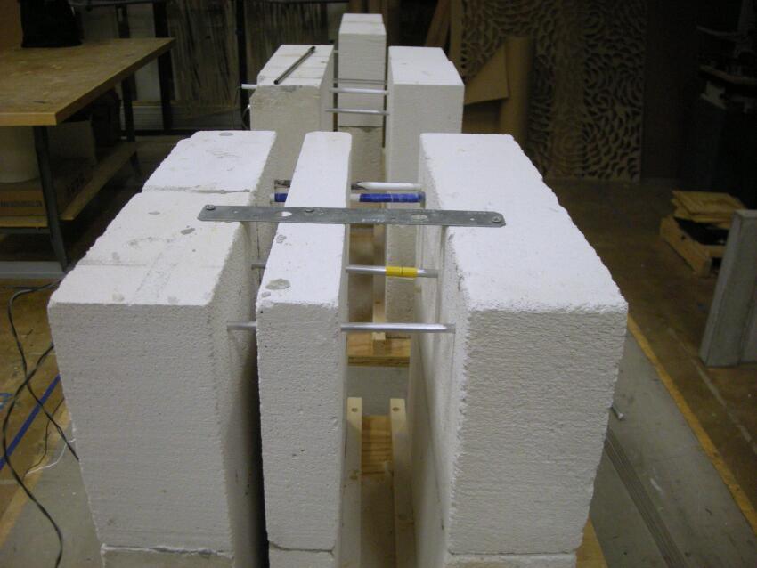 KieranTimberlake also developed several prototypes for testing sensor deployment.