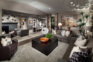 Consumers love floor plans that are open and welcoming.