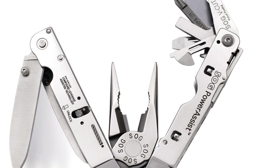 SOG Specialty Knives and Tools' PowerAssist Multi-Tool
