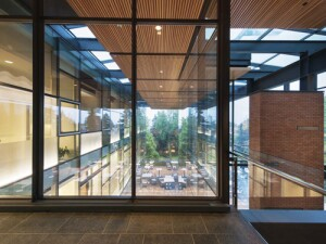 PACCAR Hall (interior), Foster School of Business, University of Washington won a 2013 AIA Honor Award for Interior Architecture.
