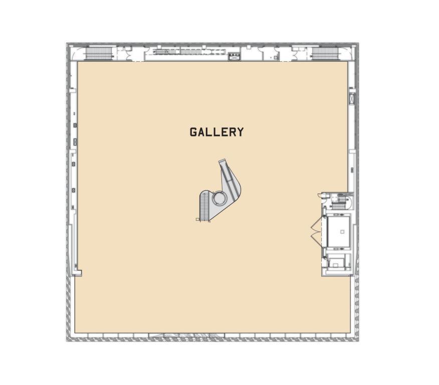 Gallery-Level Plan.