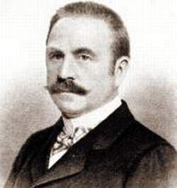 Stanford White circa 1895, 11 years before he was murdered.