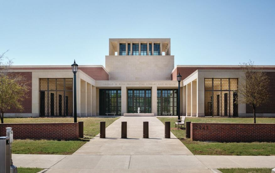 George Bush Presidential Library and Museum, Location: Dallas TX, Architect: Robert A M Stern Architects
