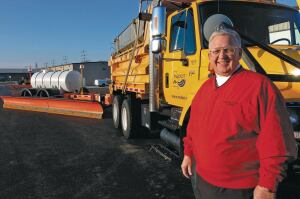 Former Missouri DOT engineer Bob Lannert invented the TowPlow. He sold his design to Viking-Clives Group, which is selling units to state and local DOTs.