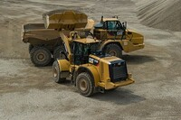 M Series 966 Wheel Loader Equipped with XE Advanced Powertrain