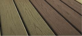 "Figure 7. Vekadeck Pro is Veka Innovations' new cellular PVC deck board, which it touts as a ""second generation"" to the original. Unlike the original's more characteristic PVC-style glossy finish, Vekadeck Pro has a satin finish. It also has a deeper embossed wood-grain pattern the company calls Traction Grip. (888/464-8352, www.vekadeck.com)"