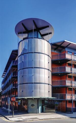 London's Murray Grove multifamily complex