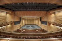 The Majestic Proscenium of the Austin ISD Performing Arts Center