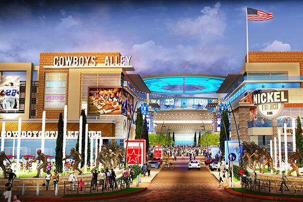Morning news roundup architect talks dallas cowboys hq project architect magazine for Interior design firms fort worth tx