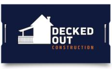 Decked Out Construction Logo