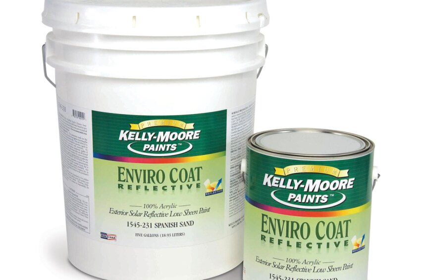 Put a Coat On: Kelly-Moore EnviroCoat Reflective 1545 Paint