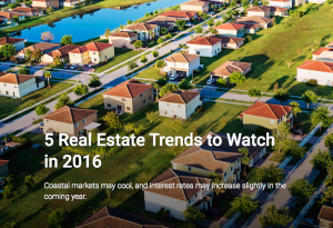 U.S. News 2016 real estate predictions
