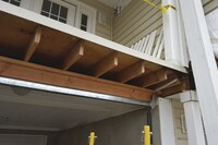 Replacing Rotted Beams on a Seaside Condo