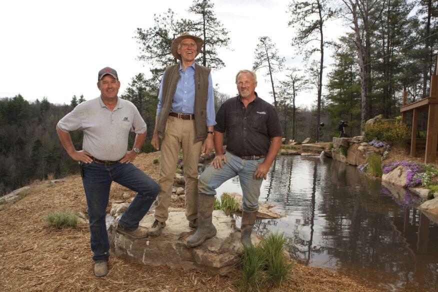 Tv series showcases natural pools pool spa news for Piscinas insolitas