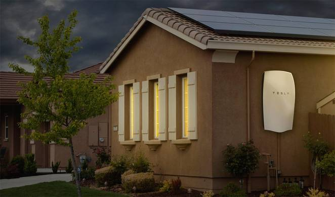 Tesla Battery Powerwall System