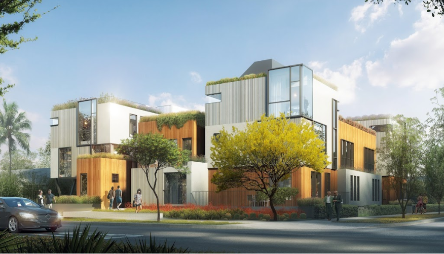 Apartment Building Courtyard contemporary courtyard apartments coming to hollywood