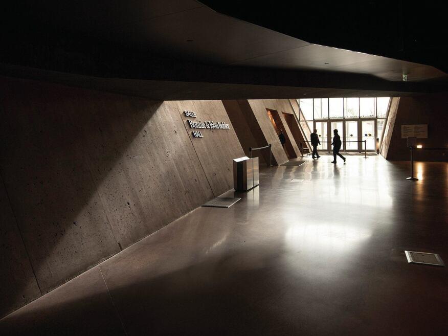 Main entrance, interior