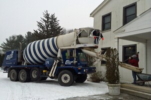 How to Set Concrete in Cold Weather