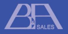 B & A Sales Logo