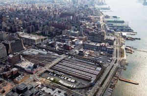 The New York Metropolitan Transit Authority has solicited proposals from five architectural/developer teams to address the West Side Rail Yards, the largest undeveloped tract of land (26 acres) in Manhattan. The MTA expects to select a developer in early 2008.