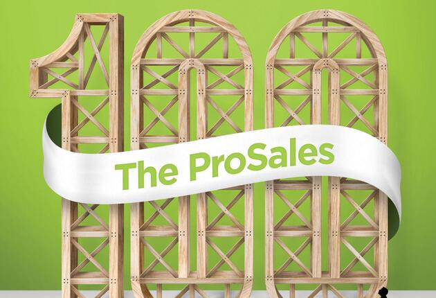 The 2015 ProSales 100