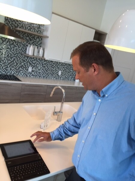 Ashton Woods vp of operations Lance Gilmet demonstrates how builders can customize, personalize, and at the same time, scale home design and construction.
