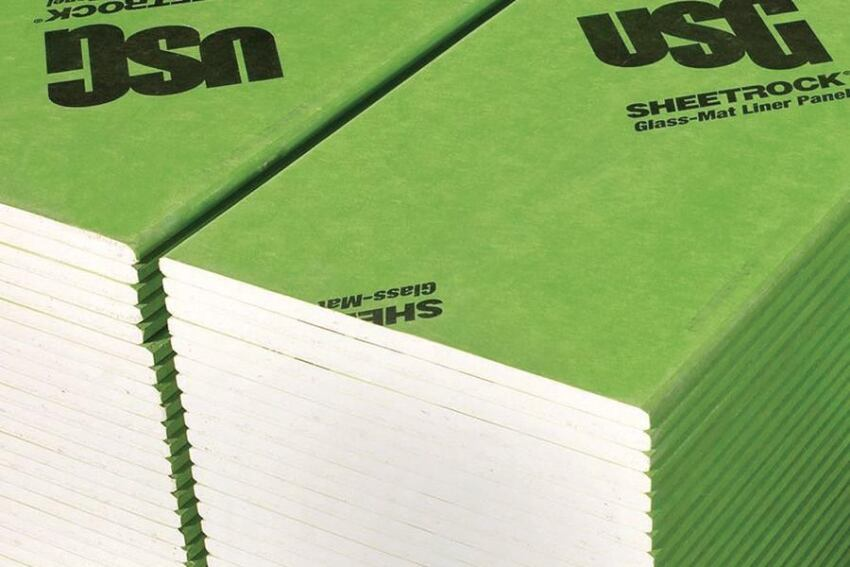 USG Sheetrock Glass-Mat Liner Panels