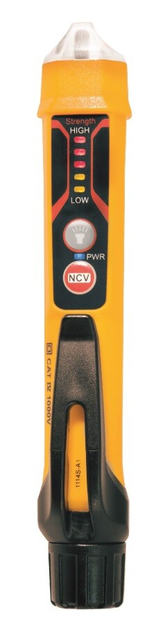 NCVT-3 Non-contact voltage detector with flashlight