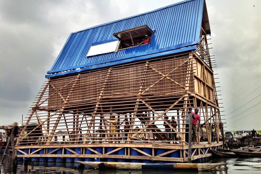 Makoko Floating School in Lagos, Nigeria