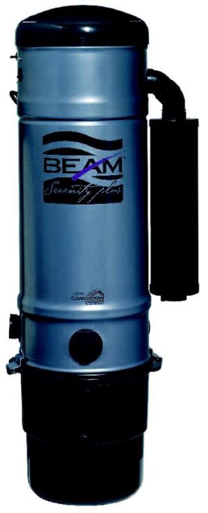 BEAM ME UP: Serenity Plus is up to five times more powerful than a conventional vacuum  cleaner. A self-cleaning CleanStream filtration system assures maximum air  flow throughout the cleaning process and traps dust on a thin surface membrane, then  sheds it into the collection receptacle when the unit is turned off. A  Quiet Pak insulation package and Sound Off muffler keep the unit quiet. Beam  Industries. 515-832-4620. www.beam.com.