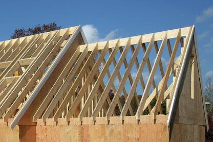 Dimensional Lumber Roofs