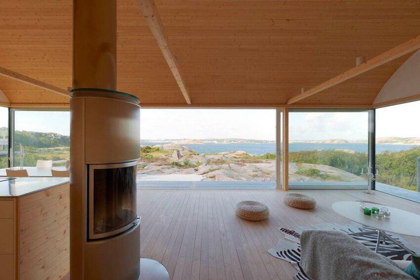 Summer Cottage on Swedish Shorefront