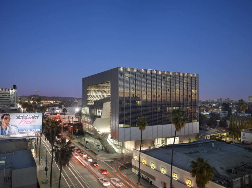 Emerson College, Morphosis Architects, Los Angeles