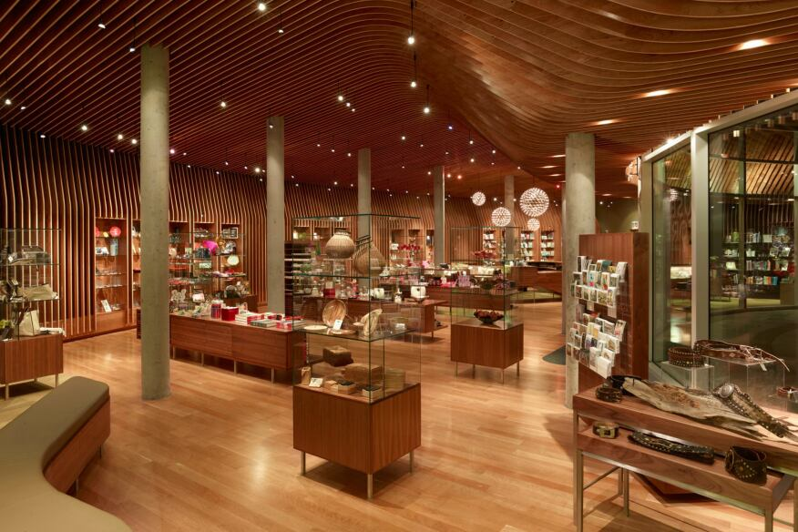 Crystal Bridges Museum of American Art, Museum Store.