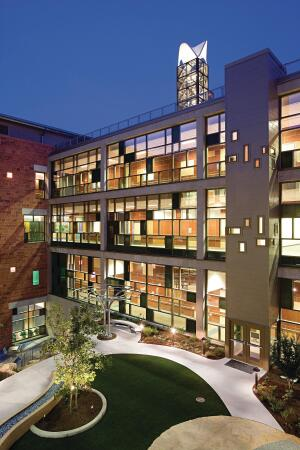 Dell Childrens occupies 500,000 square feet and 32 acres, and is the first LEED Platinum hospital in the world.