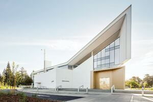 Jesuit High School Chapel, Designed by Hodgetts + Fung