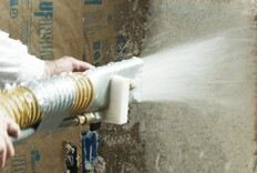 Sprayed-On Thermal Insulation