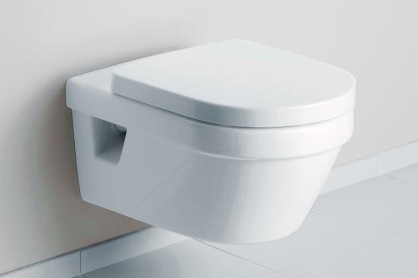 Omnia architectura wall-mounted toilet by Villeroy & Boch